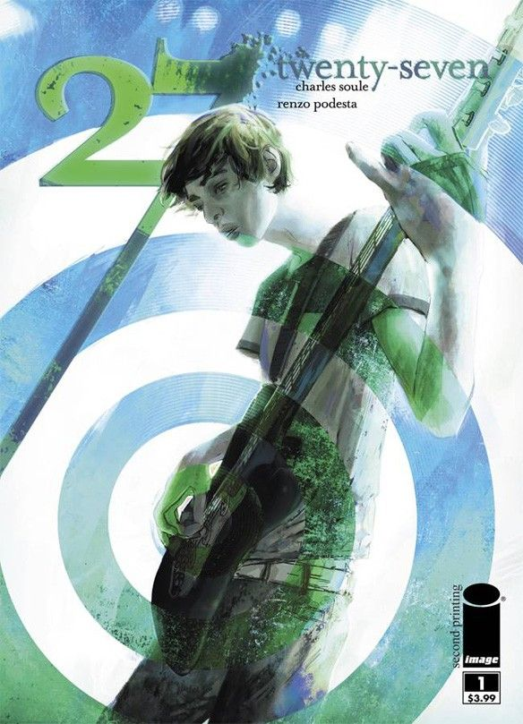 27 #1 second printing variant cover by W. Scott Forbes