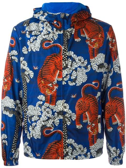 Shop Gucci Bengal tiger print jacket.