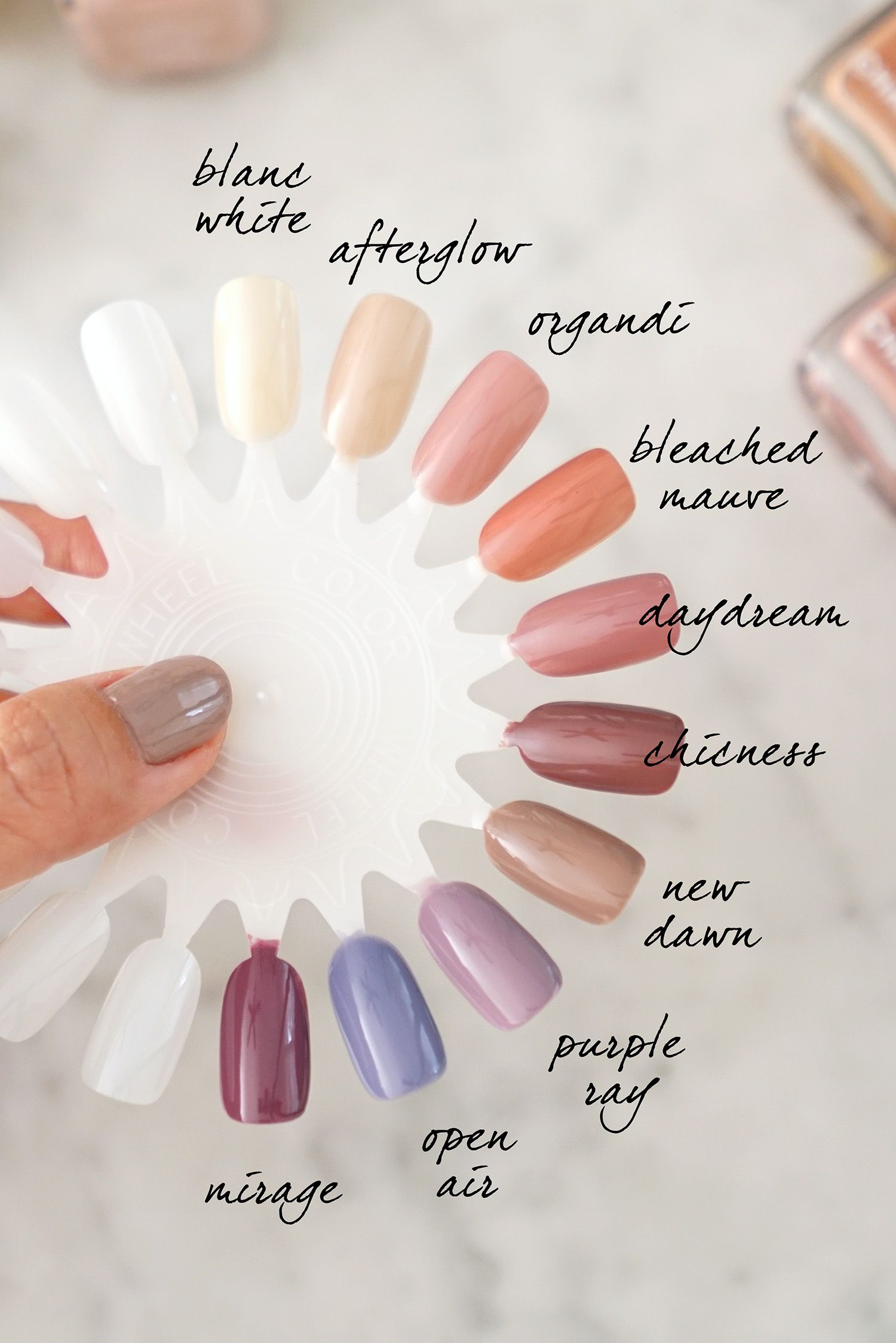 Best Chanel Le Vernis Neutrals + Soft Shades for Spring en