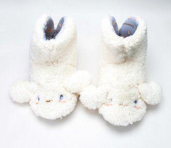 068c95188 Cinnamoroll Slippers: Fluffy Slipper Socks, Winter Season, Sanrio, Shopping  Lists, Hello