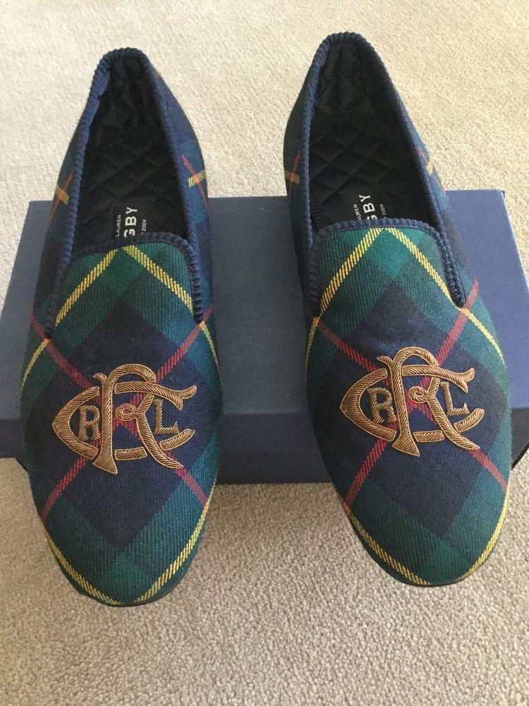Men S Super Rare Brand New Rugby Ralph Lauren Wool Tartan Slippers Size 11 Us Ralphlauren Wooltartanslippers Slippers Mens Slippers Brand New