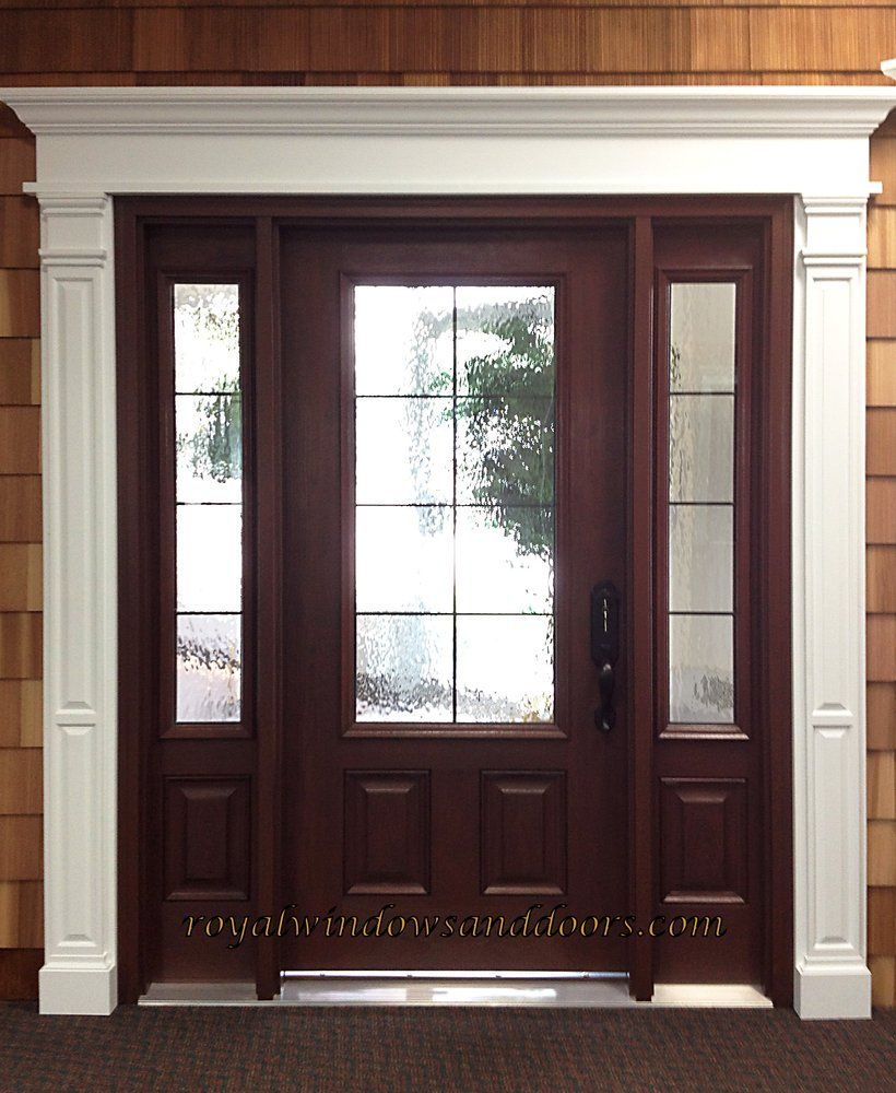 Entry Door With Windows