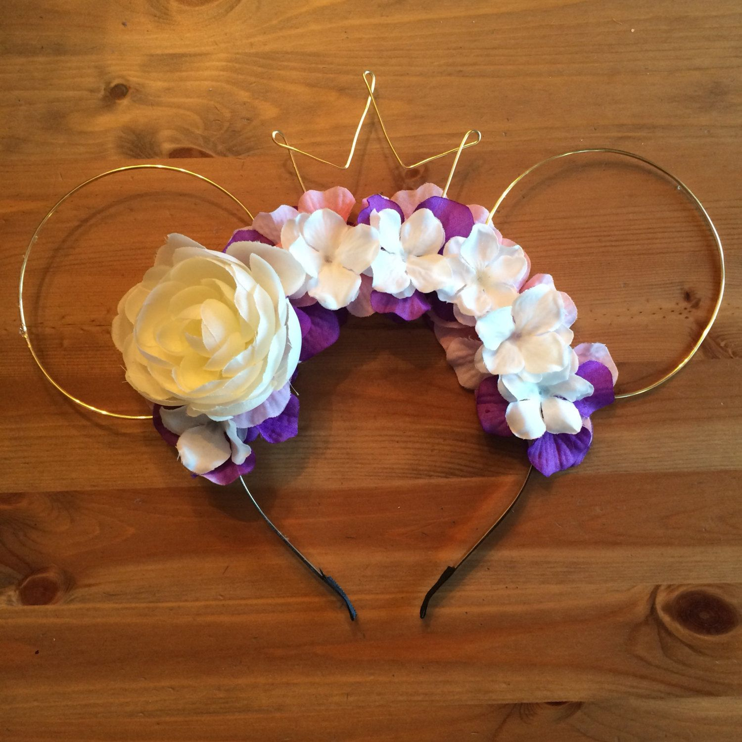 Wire mouse ears rapunzel ears wire ear headband flower headband wire mouse ears rapunzel ears wire ear headband flower headband tiara crown minnie flower crown the lost princess tangled izmirmasajfo