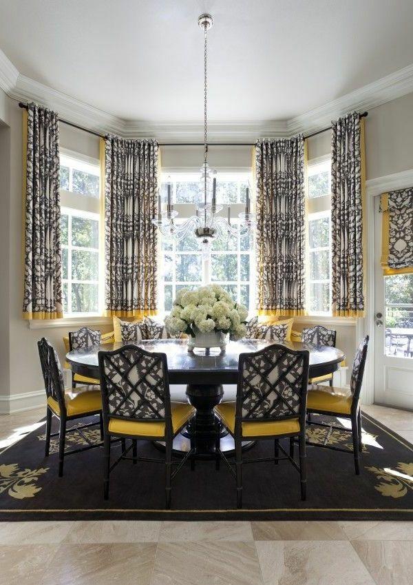 kurze gardinen frisches muster Gardinen Pinterest Kurze - gardinen modern wohnzimmer grau