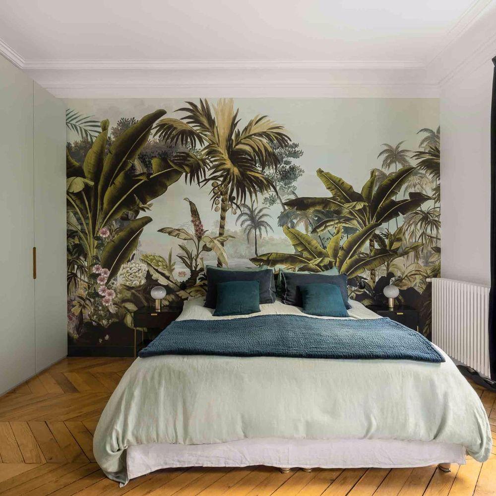 Idées déco à copier pour une chambre exotique  Chambre exotique