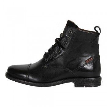 various colors 6ce8d c9b12 Levis Herren Leder Stiefel Emerson Lace up Boots in Regular ...