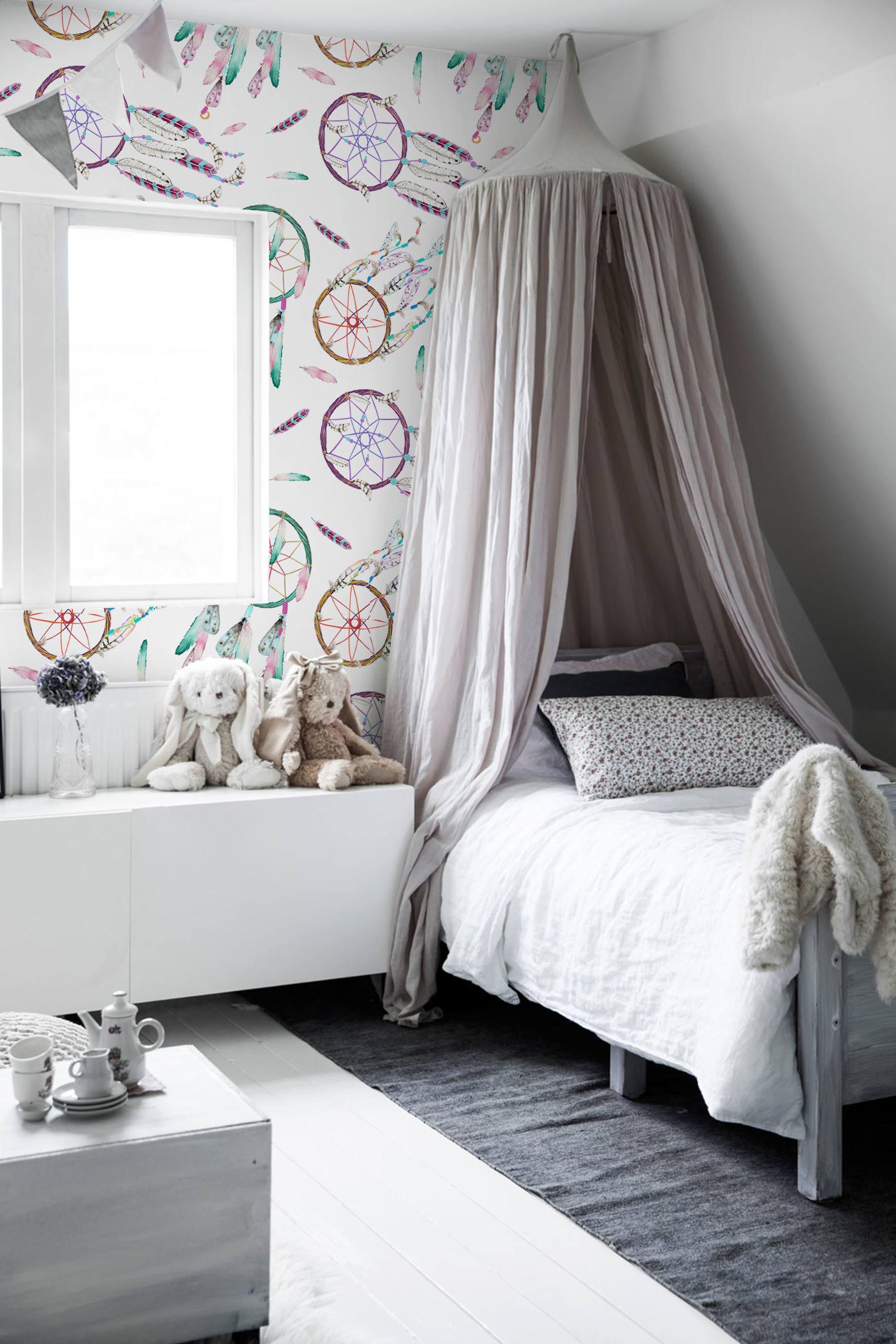 Best Dreamcatcher Wallpaper Coloraydecor Com 2 Day Shipping 400 x 300