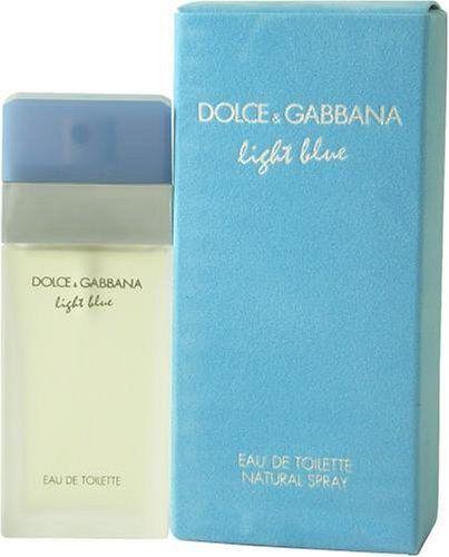 D G Light Blue By Dolce Gabbana For Women Geur Sprays Parfum