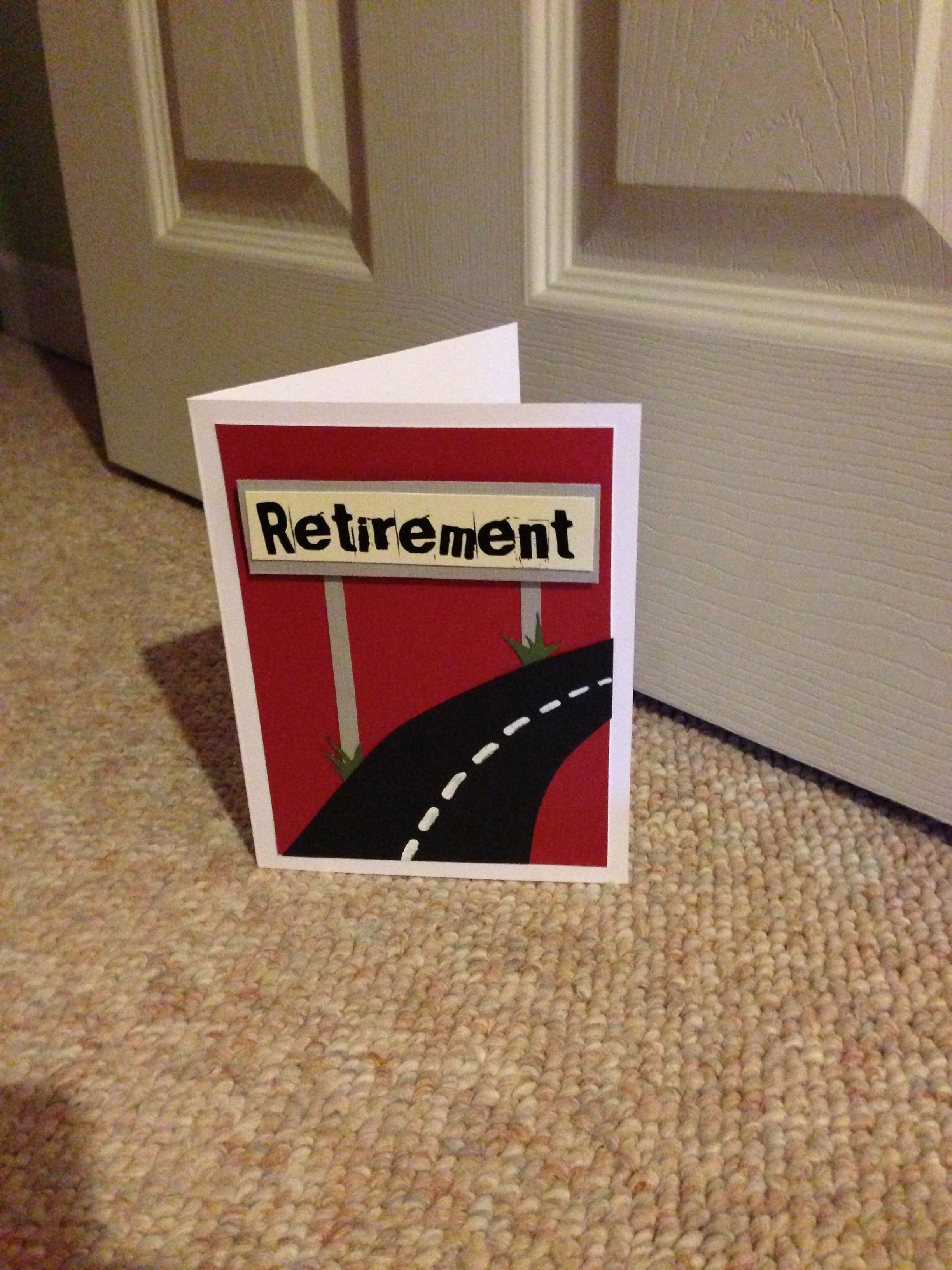 Jaz cards retirement card cards all sorts pinterest