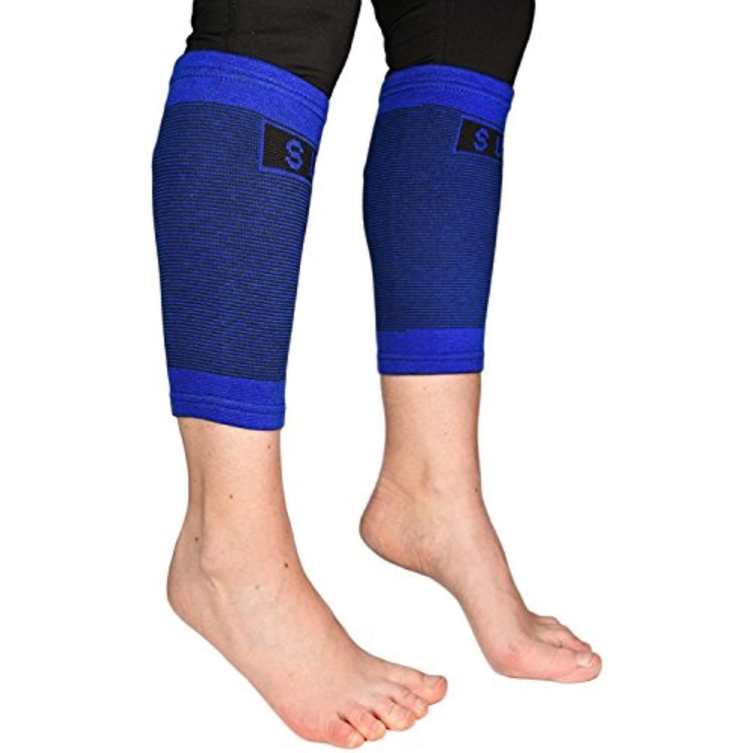 a09cae1f88 Varicose Veins · Braces · Calves · Baby Cows · 2 Professional Calf  Compression Sleeves By Susama - 1 Size Fits All - Best for Shin