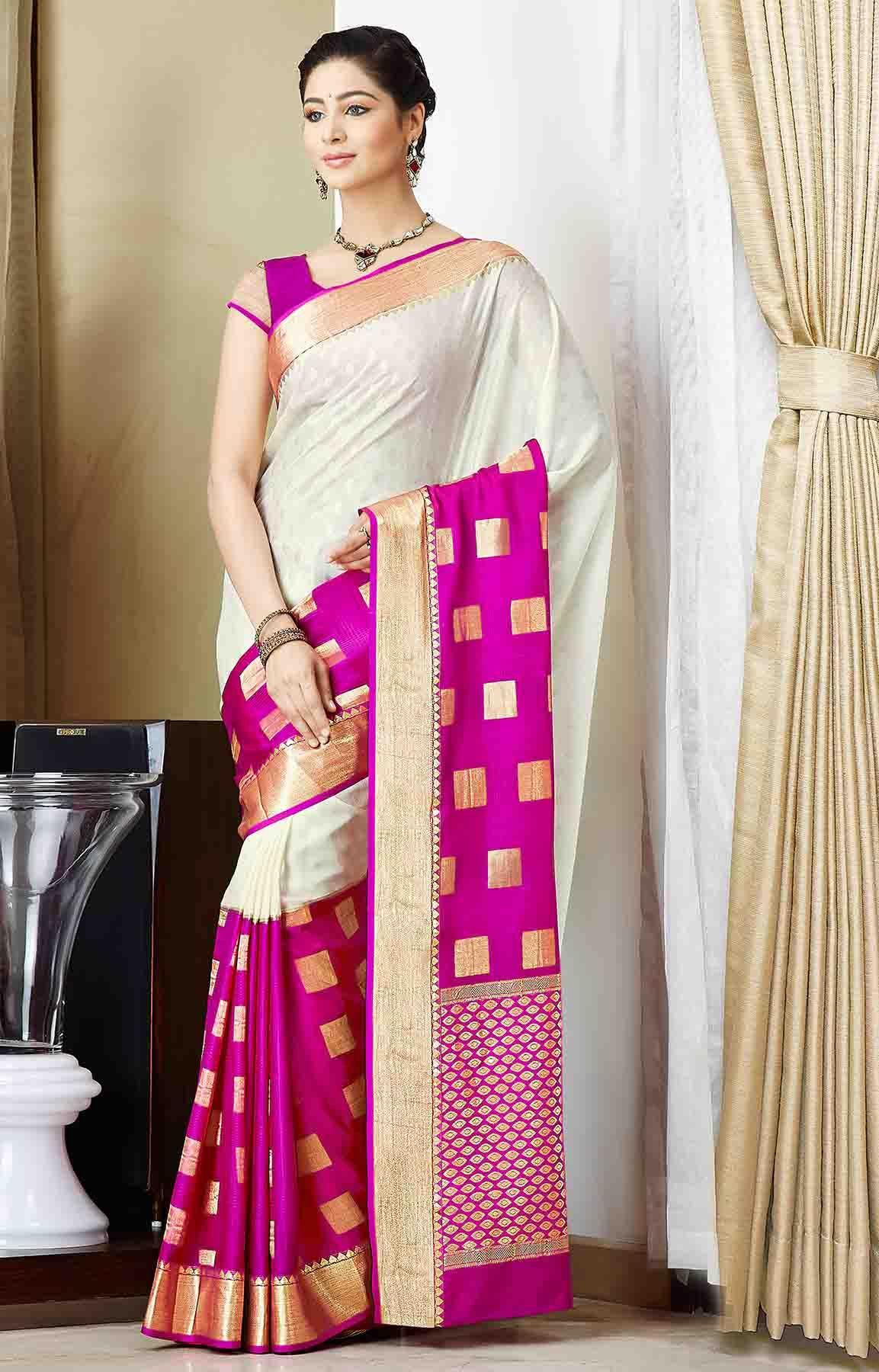 Mysore Silk From Rmkv South Indian Silk Sarees Online Shopping