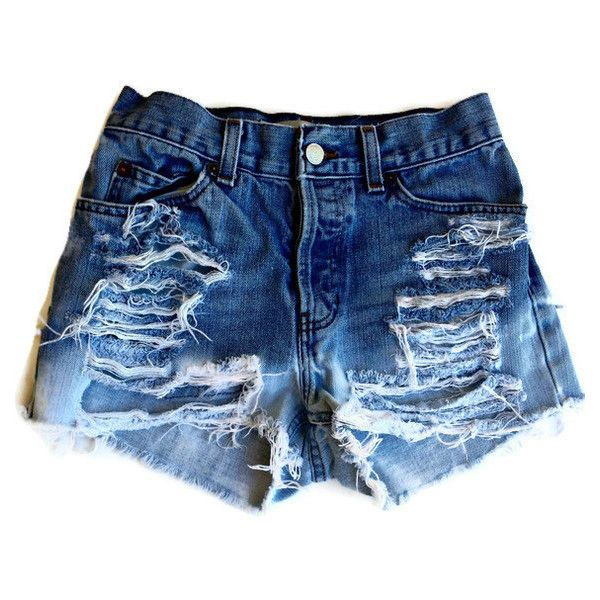 high waisted shorts tumblr ripped