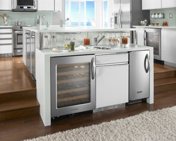 Custom Appliances and Custom Built Ins - Cabinets by Graber