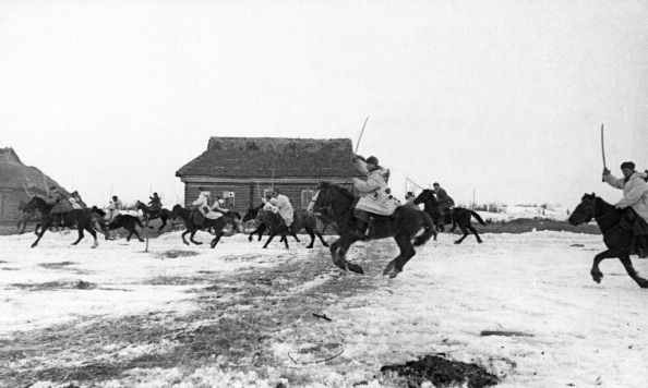 A soviet cavalry squadron pursuing retreating germans world war ll News Photo 170987608 | Getty Images