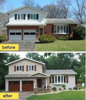 Awesome Split Entry Homes before and after