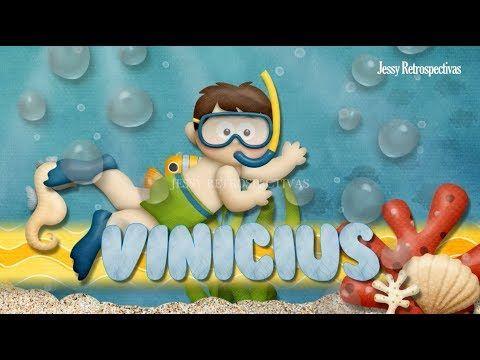 Convite Animado Fundo Do Mar Convite Aniversario Infantil