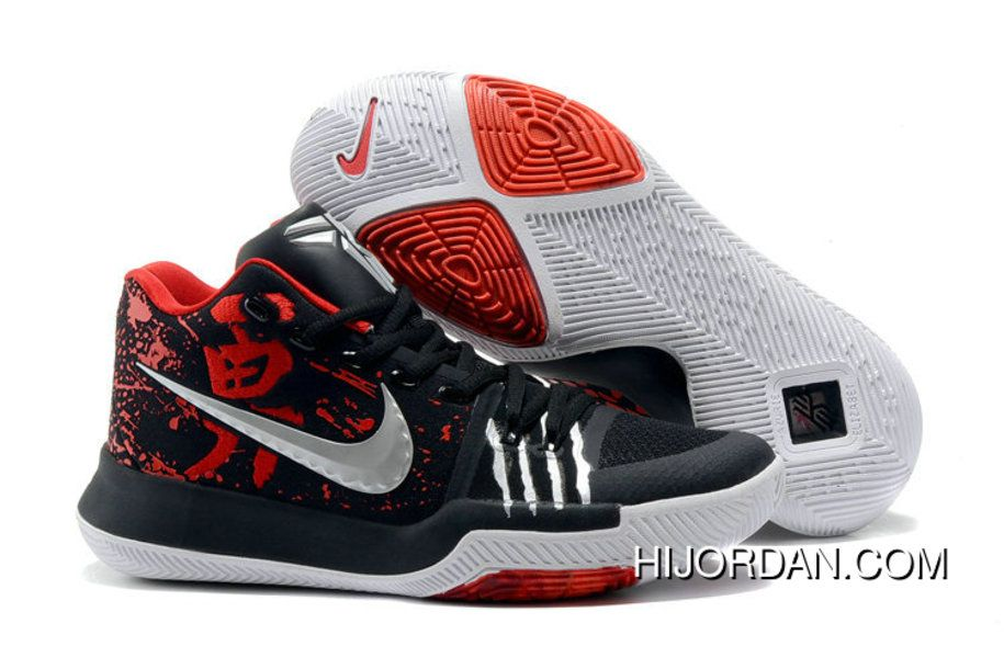 competitive price 0a083 98130 ... usa nike kyrie 3 nike kyrie 3 bruce lee black red irving basketball  shoes new style