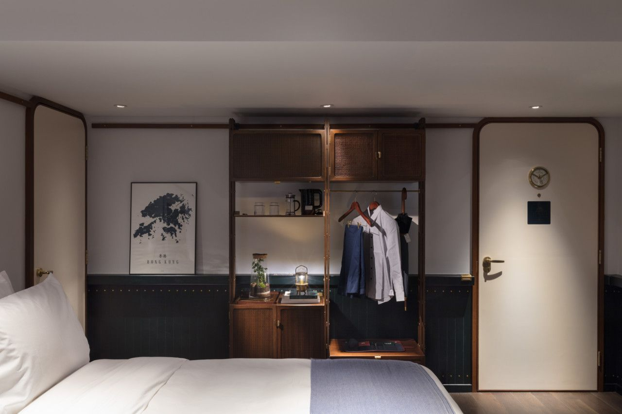 An Urban Hotel Inspired by Hong Kong's Maritime and Industrial Era  Hotel room design, Hotel