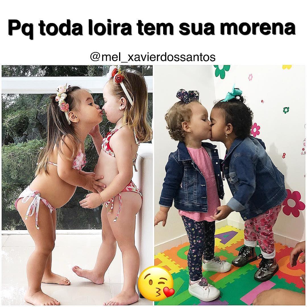 Pq Toda Loira Tem Sua Morena Né Amores A Inspiração Hj Vai Nessa