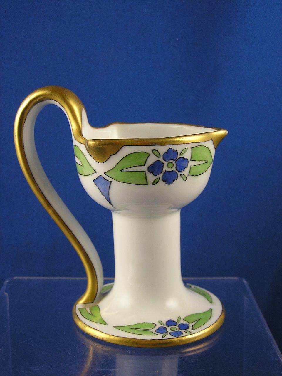 Pfeiffer lowenstein p l austria arts crafts floral for Candle holder crafts