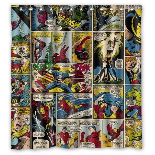 Marvel Super Heroes Comics Characters special custom by curtainasu ...