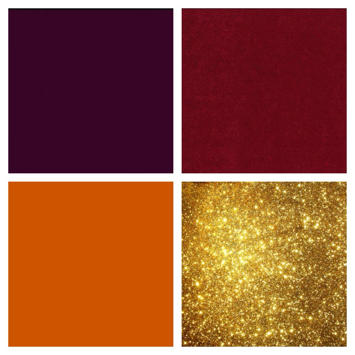 Eggplant cranberry burnt orange and gold color scheme Navy purple color