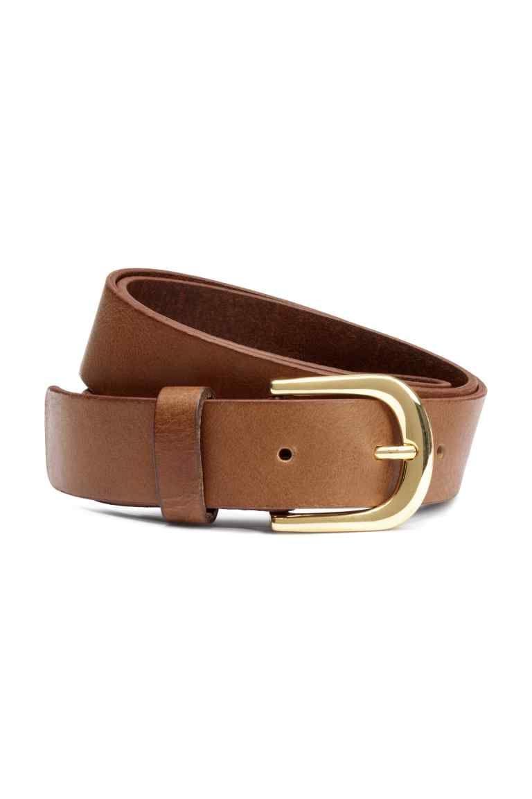 bbbe96040 H&M: Cinturón - Marrón Cinturones Mujer, Piel, Compras, Bolsos, Mujeres,