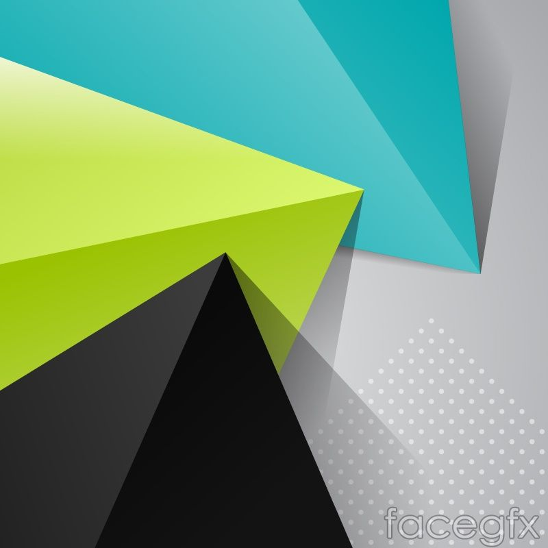 Colored origami triangles vector background free vectors colored origami triangles vector background toneelgroepblik Image collections