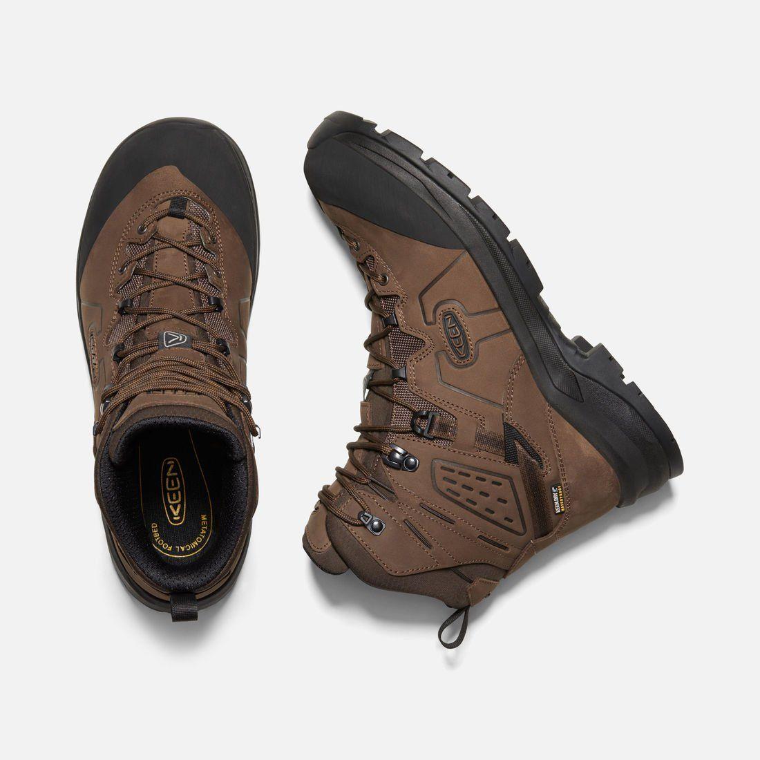 Men S Karraig Mid Waterproof Hiking Boots Keen Footwear Steel Toe Work Boots Hiking Boots Boots