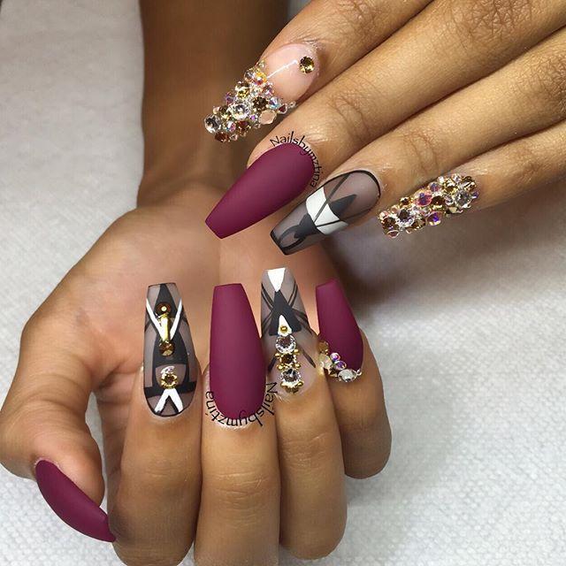 Pin de Nonosa en Diseno   Pinterest   Uña decoradas, Diseños de uñas ...