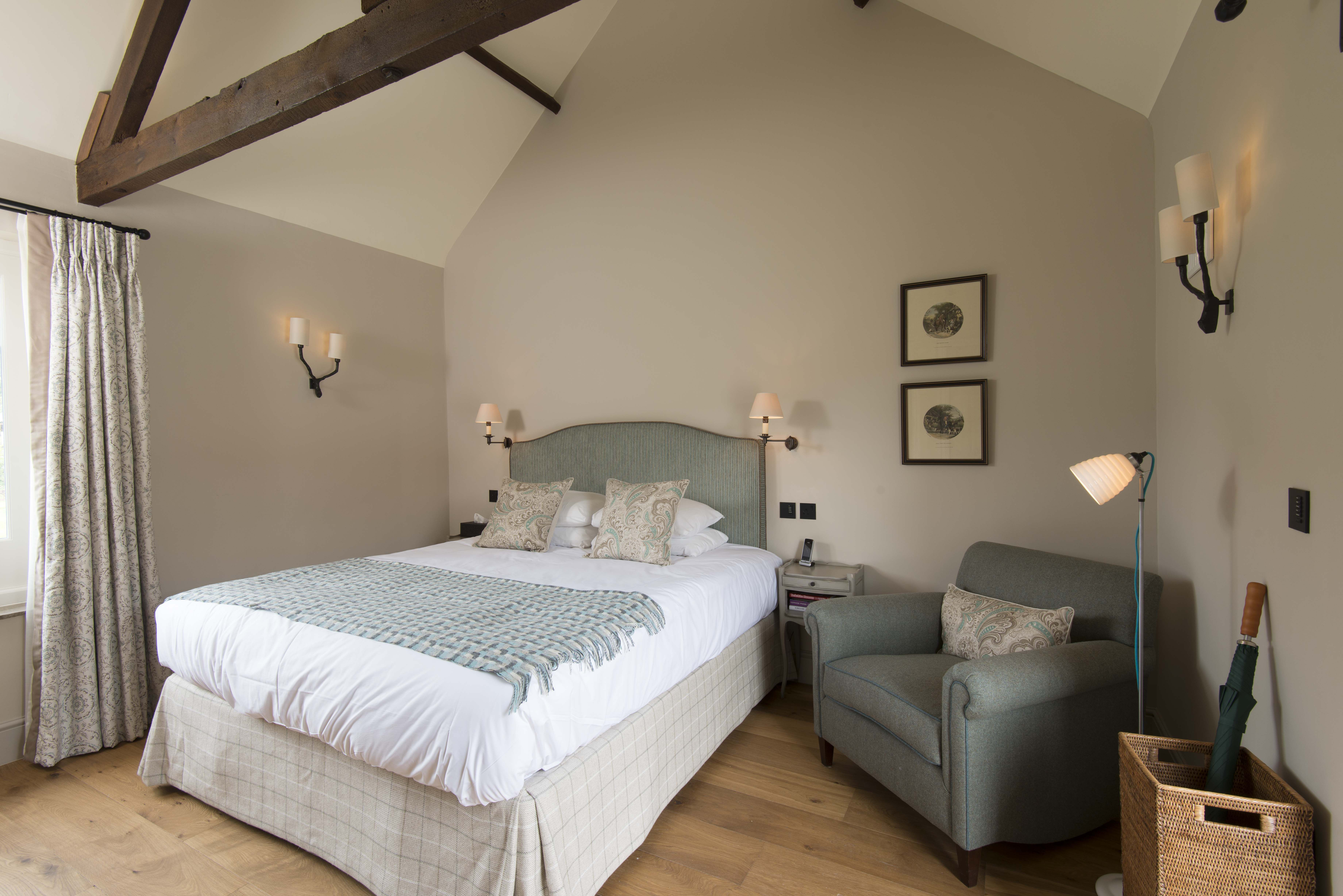 Lighting | Country shooting lodge guest room have a ...