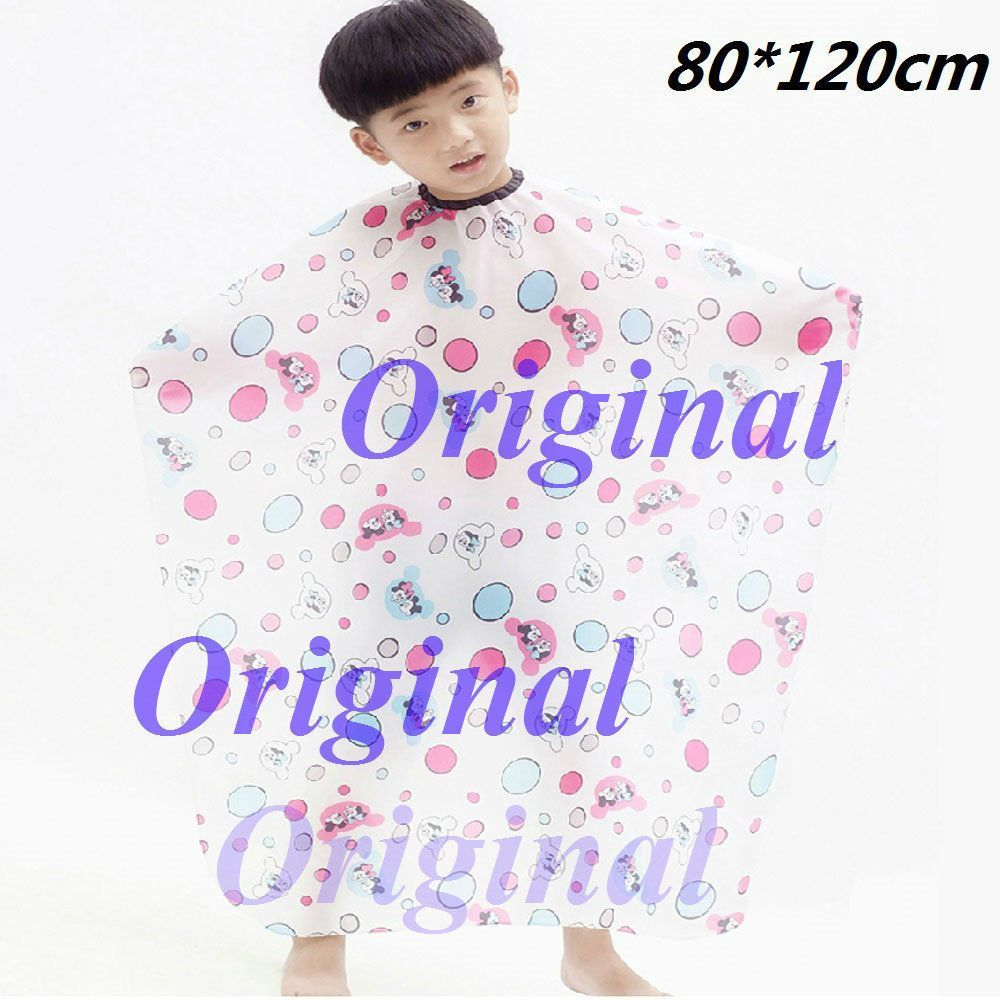 Child Kids Hair Cutting Cape Apron Gown Hairdressing Hairdresser