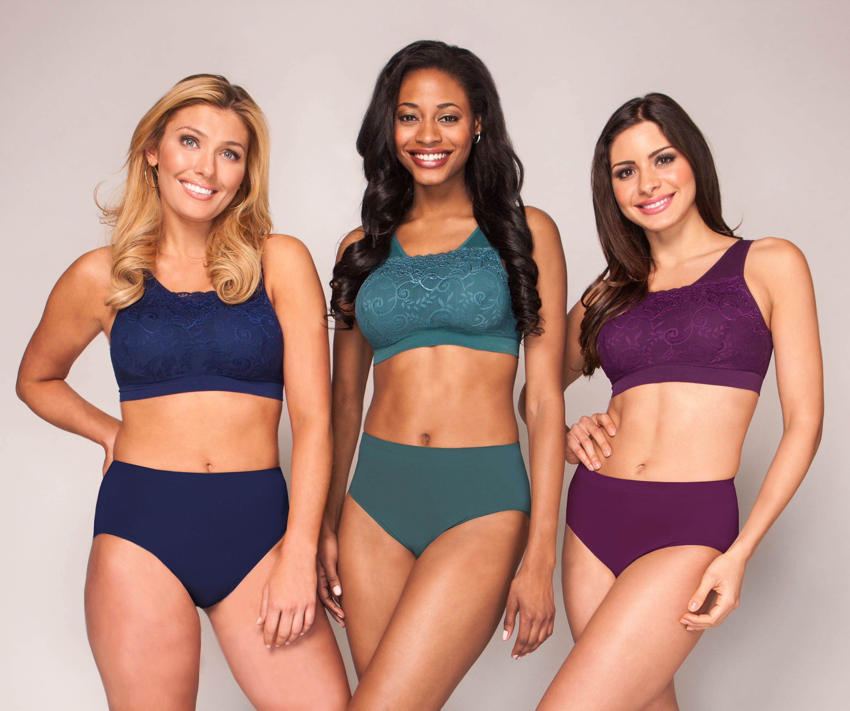 6912bb7297 Try the Milana Bra in beautiful colors to peek out from under low cut tops.  Support and style in one!  comfort  seamlessbra  seamless  colorbra