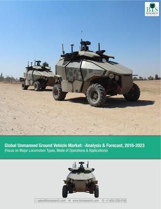Global Unmanned Ground Vehicle Market Research Report 2016-2023  Unmanned ground vehicles as part of the industrial automation are widely used in both commercial and defense applications, having activities ranging from picking and placing different materials, explosives handling, surveillance, among others.