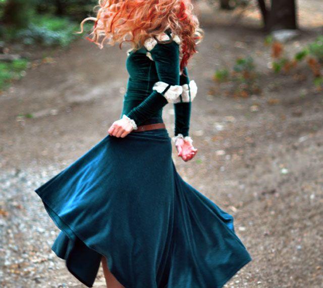 Diy Princess Merida Costume From Disney S Brave Love Maegan Merida Costume Brave Costume Merida Brave Costume