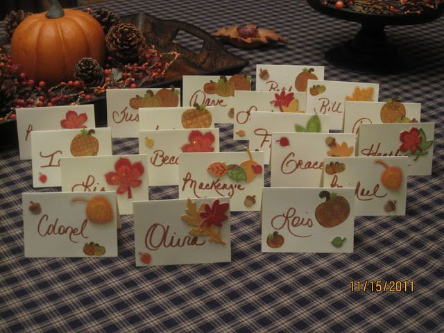 Today I am sharing with you a family tradition that we have been doing in our household for as long as I can remember, Thanksgiving Scripture Place Cards