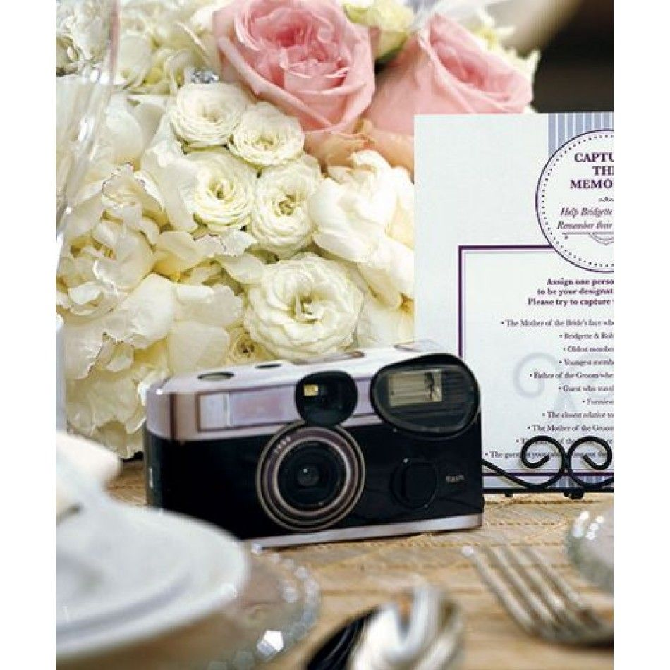 Vintage Design One Use Wedding Camera [977-9199 Vintage Design ...