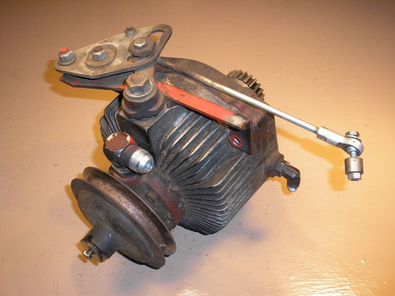 wheel work horse gt 1848 tractor mower eaton 1100 hydro transmission