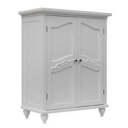 Yvette 2 Door Floor Cabinet   New Home Ideas   Pinterest   Doors ...