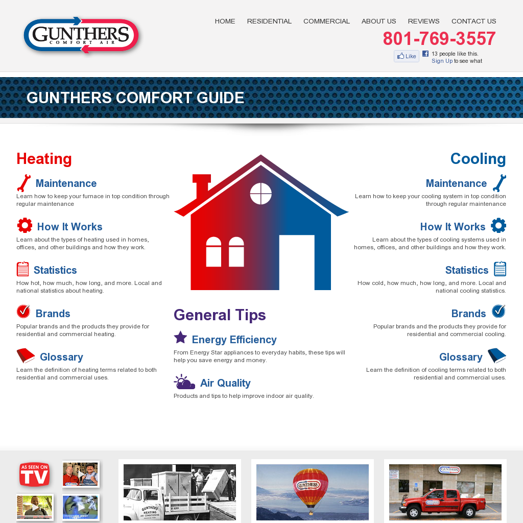 Gunther Heating & Air Conditioning Heating and air