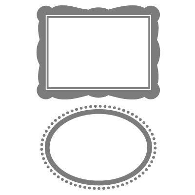 set designer frames textured impressions embossing folder die by stampin