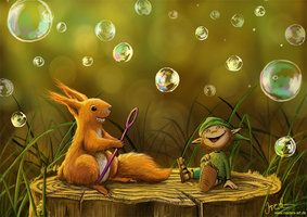 Woodland Critters by jerry8448 on deviantART