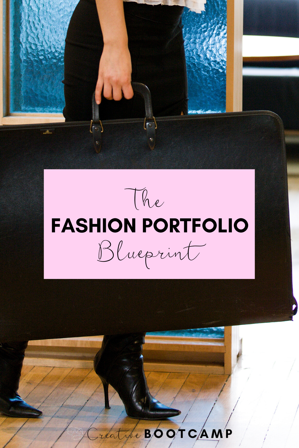 Present yourself as professional as possible with these classic and timeless designs and tips. Stop struggling and make your fashion portfolio in an afternoon! #fashion #portfolio #course #tips #templates #howto #blueprint