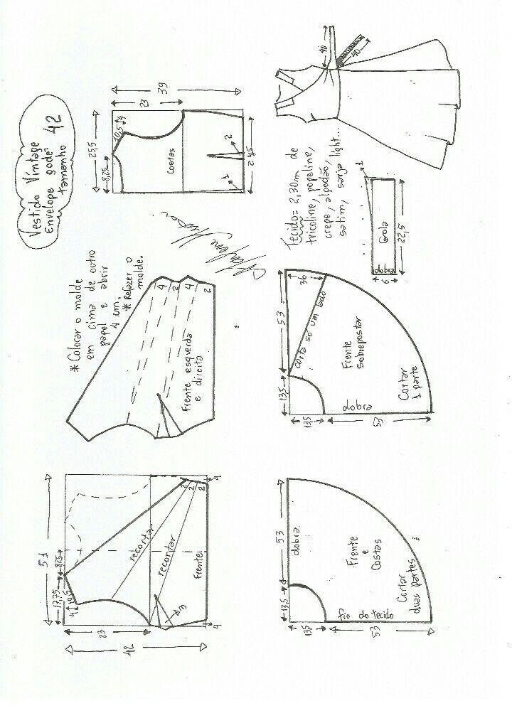 Pin de Elizabeth Klein en molderia | Pinterest | Costura facil ...