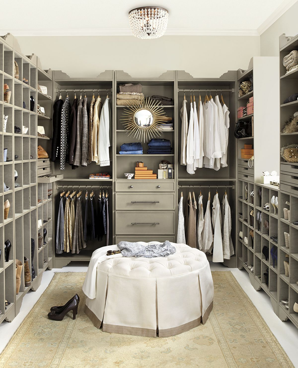 very attractive walk in closet designs for a master bedroom. Closet organization Storage Spaces  Master closet and
