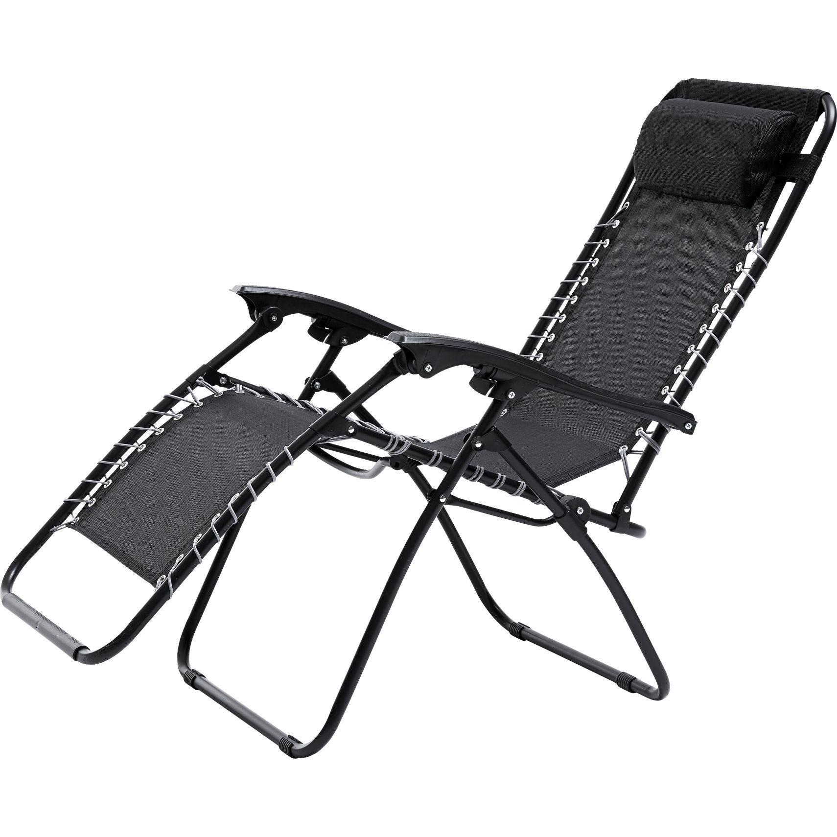 Folding Chair Trap Kinematic Diagram Saga Solstol I Sort Textilin Med Grå Elastik På