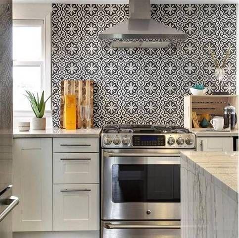 Best Kitchen Backsplashes On Instagram Kitchen Backsplash Cool