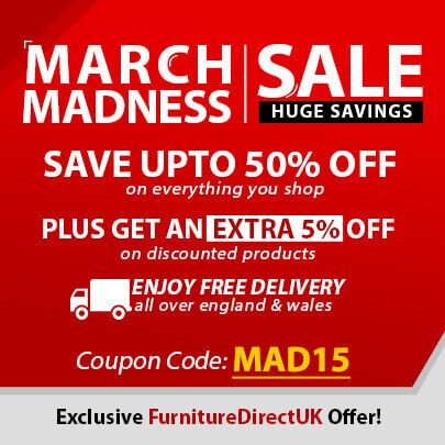 March Madness sale at Furniture Direct UK. Get up to 50% OFF. #sale ...