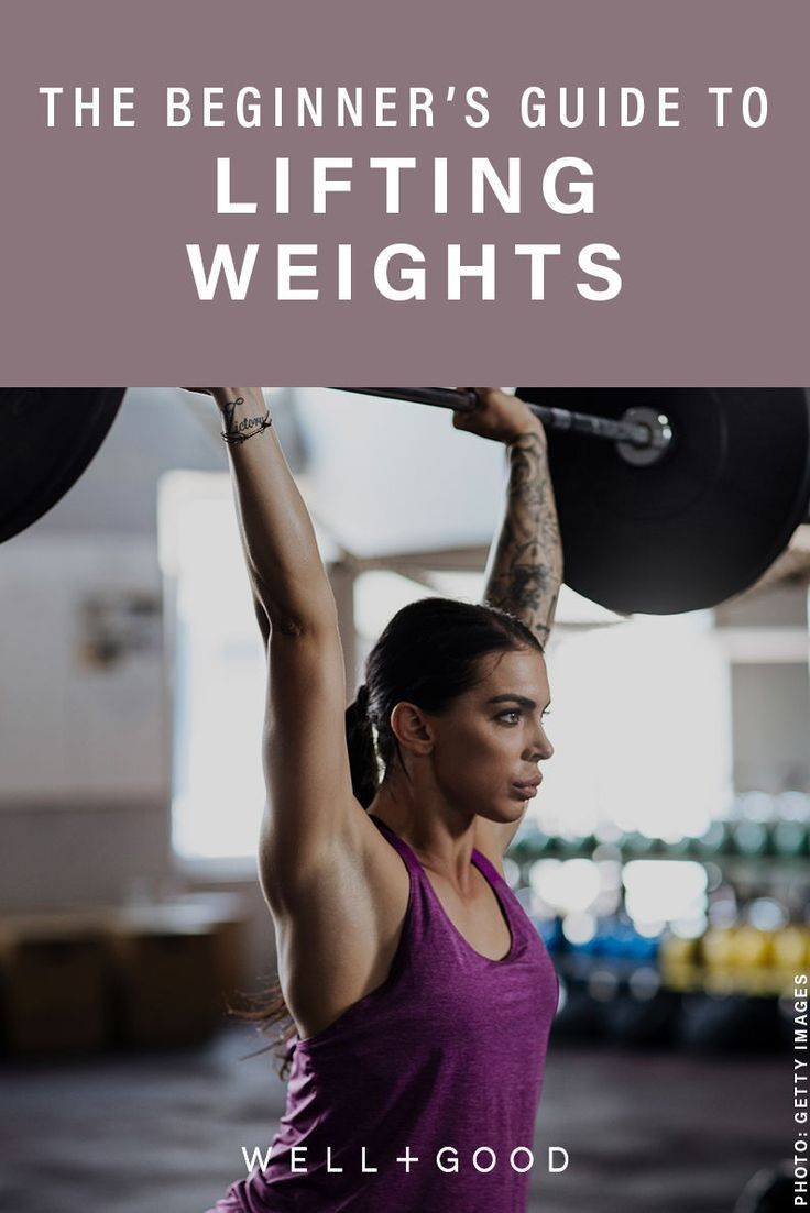 How to start weight training if you're a total barbell newbie| Well+Good