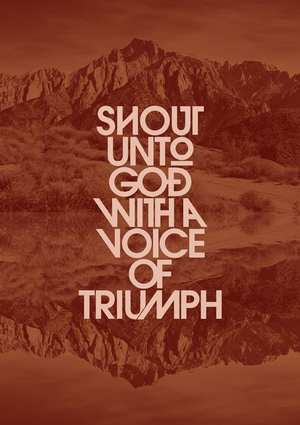 Lyric lyrics to shout to the lord : Shout Unto God - Joel Houston + Marty Sampson (Hillsong) [ 2004 ...